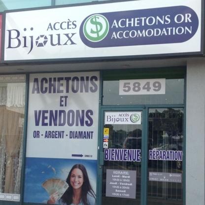 Accès Bijoux - Achat de bijoux - 514-329-2274