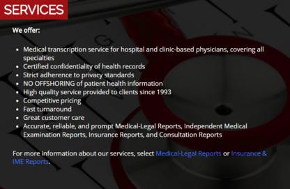 Pulse Medical Transcription Services - Secretary Services