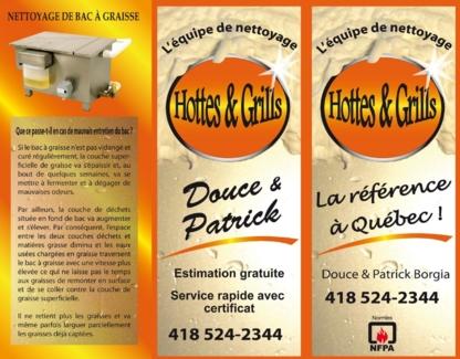 Nettoyage Hottes & Grils - Entrepreneurs en ventilation