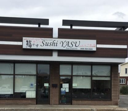 Sushi Yasu  - Sushi et restaurants japonais - 450-465-8383