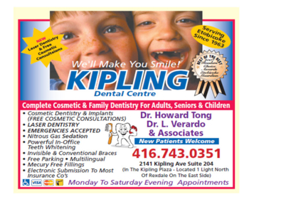 Kipling Dental Centre - Dentists - 416-743-0351