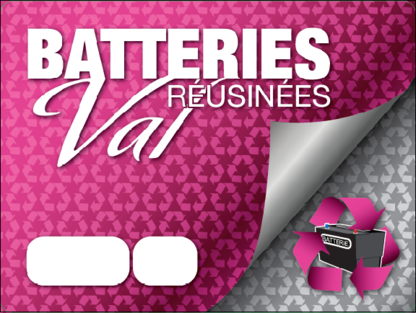 Batteries Réusinées Val - Storage Battery Dealers