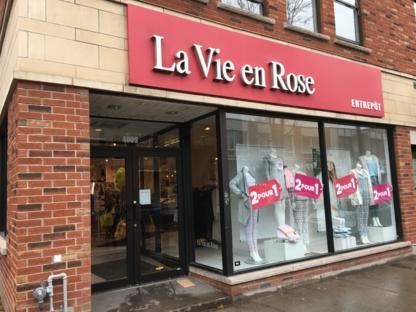 La Vie En Rose Entrepôt - Magasins de lingerie - 514-762-3407