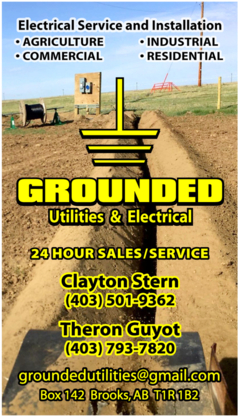 View Grounded Utilities & Electric's Edmonton profile