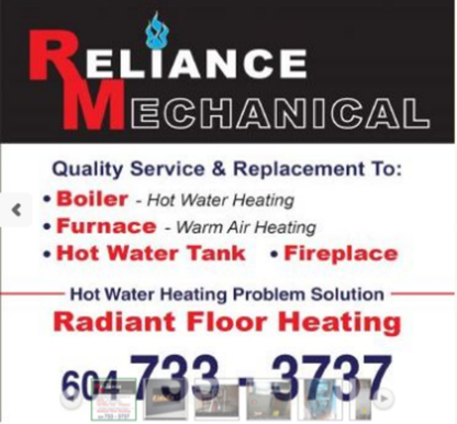 Reliance Mechanical - Heating Contractors