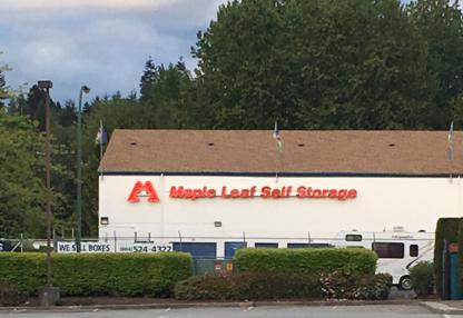 View Maple Leaf Self Storage's Surrey profile