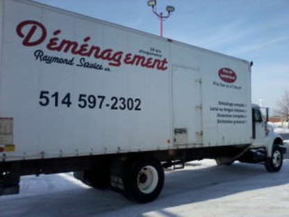 Déménagement Raymond Service Inc - Moving Services & Storage Facilities - 514-597-2302
