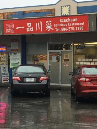 Szechuan Delicious Restaurant - Chinese Food Restaurants - 604-276-1780