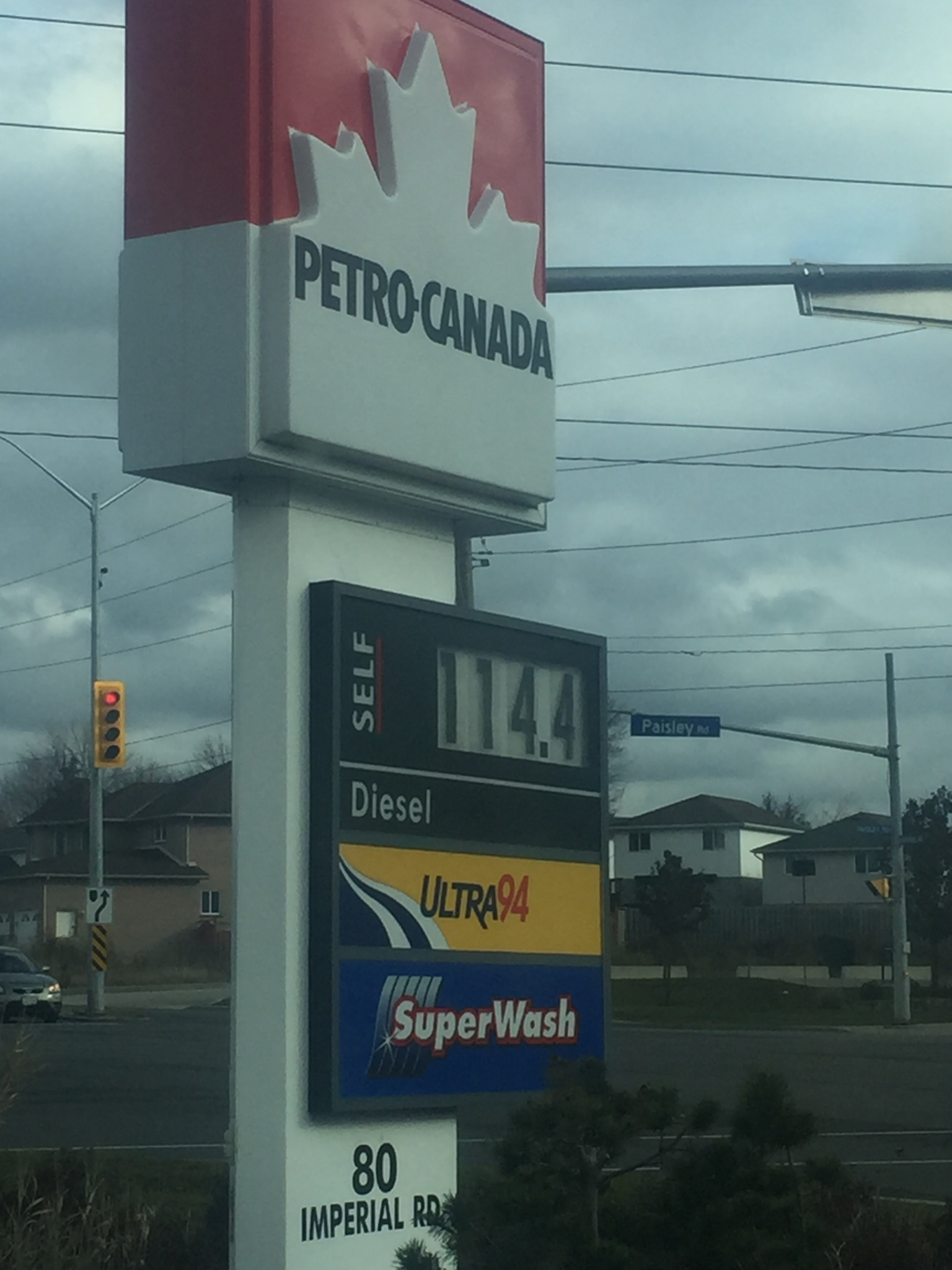 Petro-Canada - 80 Imperial Rd S, Guelph, ON