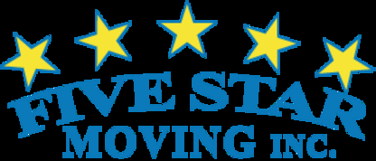 Five Star Moving - Déménagement et entreposage - 709-834-0070