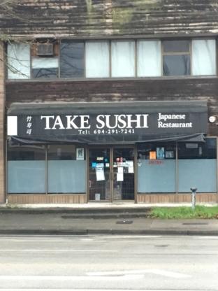Take Sushi Japanese Restaurant - Sushi & Japanese Restaurants - 604-291-7241