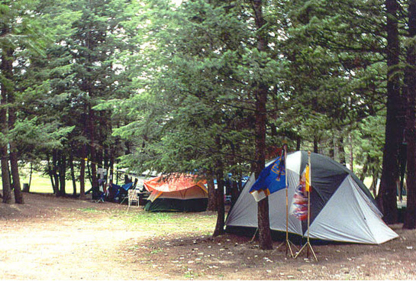 Jaffray bc campgrounds with hookups