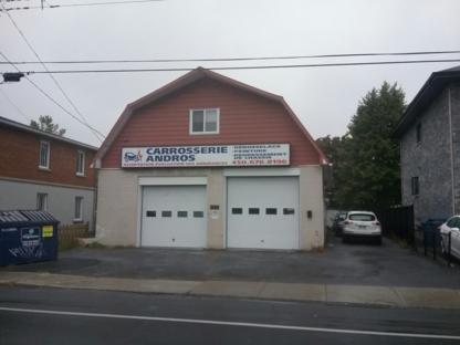 Carrosserie Andros - Réparation de carrosserie et peinture automobile - 450-678-8196