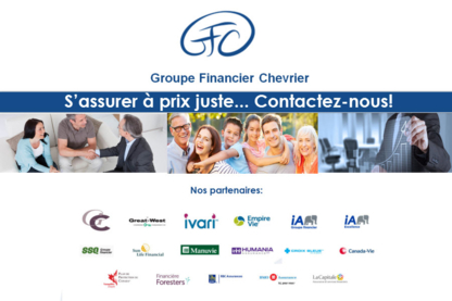 Groupe Financier Chevrier - Health, Travel & Life Insurance - 819-568-7754
