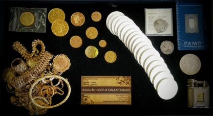 Niagara Coin And Collectibles - Coin Dealers & Supplies - 905-371-0111