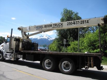 Rebel Boom Truck Service Ltd - Crane Rental & Service
