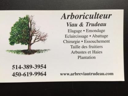 Arboriculteur Viau & Trudeau - Service d'entretien d'arbres - 450-619-9964