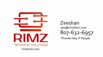 RIMZ Technical Solutions - Computer Stores - 807-632-6957