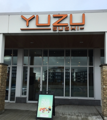 Yuzu Sushi - Restaurants - 450-926-9898