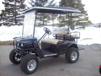 Réparation Voitures de Golf - Voiturettes et chariots de golf - 418-247-7644