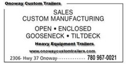 Onoway Custom Trailers - Trailer Hitches