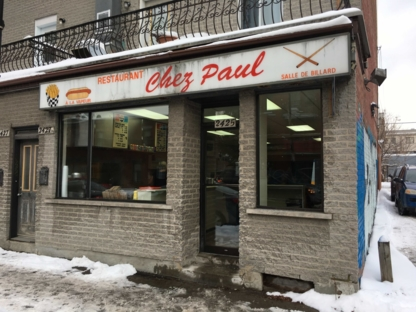 Salle de Billard Chez Paul - Fast Food Restaurants