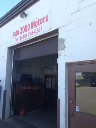 Auto 2000 Motors - Car Repair & Service - 416-755-0381