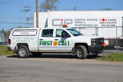 First Call Locating & Underground Services - Underground Utility Locators