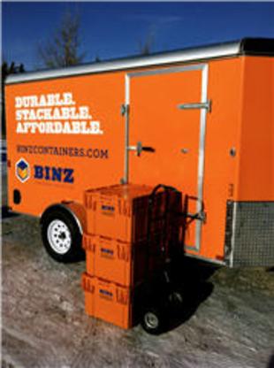 Binz Container Service Ltd - Moving Equipment & Supplies - 204-253-2469