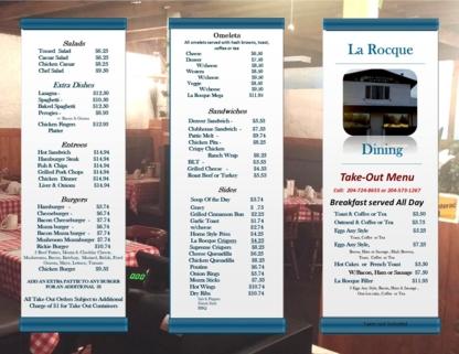 La Rocque Dining - Restaurants - 204-724-8655