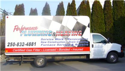 Performance Plumbing & Heating Ltd - Furnace Repair, Cleaning & Maintenance - 250-832-4881