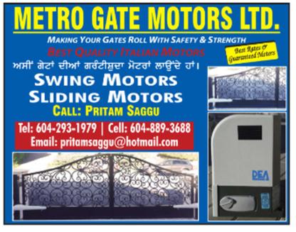 Metro Gate Motors Ltd - Railings & Handrails
