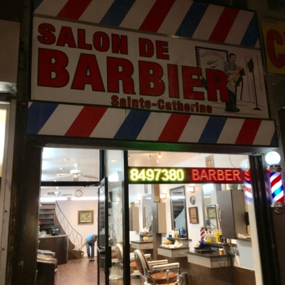 Salon De Barbier Saint-Alexandre - Salons de coiffure - 514-849-7380