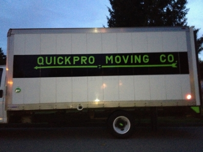 QuickPro Moving Co - Moving Services & Storage Facilities - 250-668-5485
