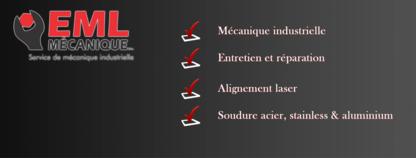 EML Mécanique Inc - Soudage - 418-209-0311