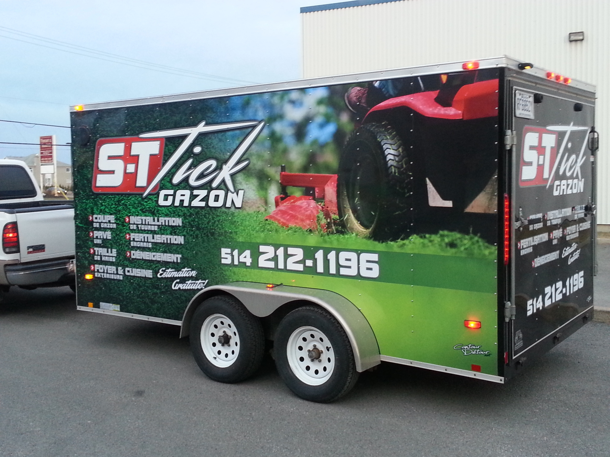 Voir le profil de S-T-Tick Gazon Service + - Grenville-sur-la-Rouge