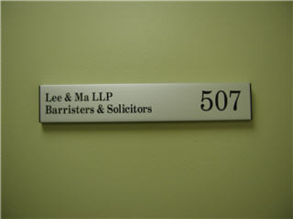 Lee & Ma LLP - Lawyers