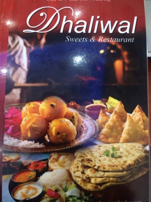 Dhaliwal Indian Sweets & Restaurant - Vegetarian Restaurants - 905-913-1114