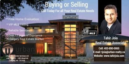 Tahir Joia - Urban Real Estate Services Ltd - Courtiers immobiliers et agences immobilières