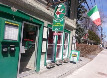 Trattoria Casa Rinacchio - Italian Restaurants - 450-628-8680