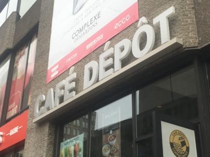Café Dépôt - Coffee Shops - 514-286-9598