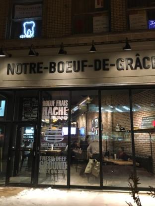 Notre-Boeuf-de-Grâce - Restaurants - 514-369-9090