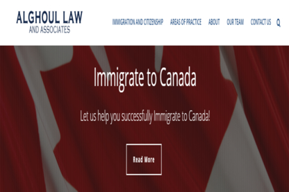 Alghoul & Associates Law Firm - Immigration Lawyers - 204-975-9228