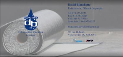 Couverture DB Inc - Roofers - 819-357-9223