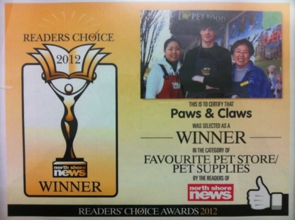 Paws & Claws Pantry - Pet Food & Supply Stores