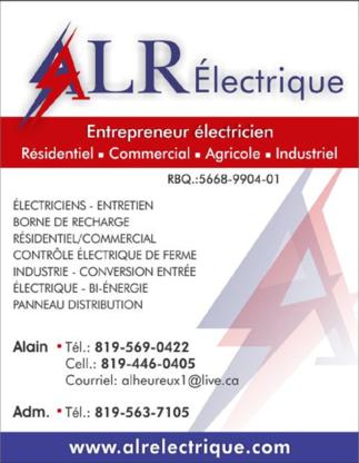 View ALR Electrique's Québec profile