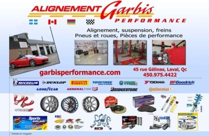 Alignementgarbis.com - Alignement de roues, réparation d'essieux et de châssis d'auto - 450-975-4422