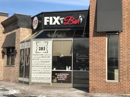 le Fix Bar - Salons de coiffure et de beauté