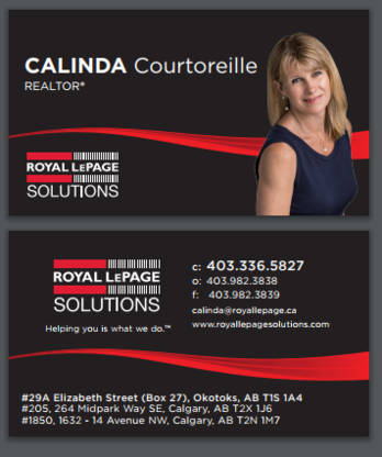 CALINDA Courtoreille Realtor - Real Estate Agents & Brokers - 403-336-5827