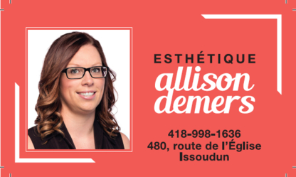 Esthétique Allison Demers - Eyebrow Threading - 418-998-1636